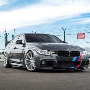 "20"" BLAQUE DIAMOND BD11 SILVER CONCAVE WHEELS RIMS FITS BMW E63 E64 M6"