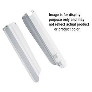 Polisport Fork Guards White For Kawasaki/for Suzuki 8398000001
