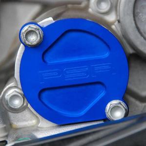 Powerstands Racing 07-01981-25 Magnetic Oil Filter Cap - Blue