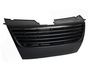 06-10 VW PASSAT B6 (3C) FRONT UPPER BADGELESS SPORT GRILLE - BLACK