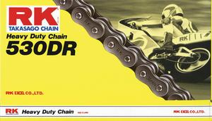 RK 530DR-180 530 DR Heavy Duty Chain - 180 Links - Natural