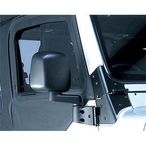 Rugged Ridge 11002.10 Factory Style Mirror Fits Wrangler (LJ) Wrangler (TJ)