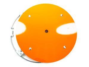 AERO RACE WHEELS G2 Orange Plastic 15 in Wheels Mud Cover Kit P/N 54-500040