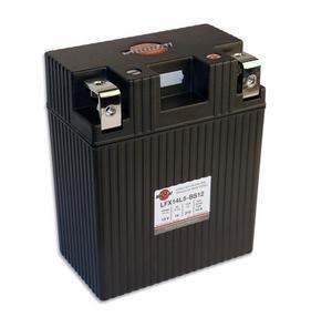 "Shorai LFX Lithium Battery 14AH, 12V, 210 CCA, ""L"" Polarity LFX14L5-BS12"