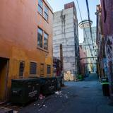Photograph of Alley (south of Cordova, west of Cambie).