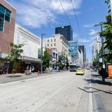 Photograph of Granville Street (between Smithe & Robson).