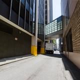 Photograph of Alley (south of Howe, west of Pender).