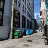 Photograph of Alley (south of Granville, west of Pender).