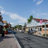 Photograph of Main Street Unionville (between Carlton & Fred Varley).