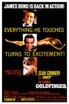 Poster for Goldfinger.