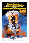 Poster for Diamonds Are Forever.