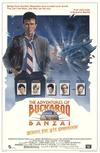 Poster for The Adventures of Buckaroo Banzai Across the 8th Dimension.