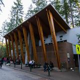 Photograph of Lynn Canyon Café.