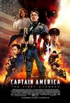 Poster for Captain America: The First Avenger.