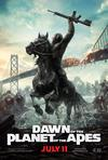 Poster for Dawn of the Planet of the Apes.