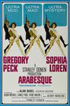 Poster for Arabesque.