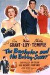 Poster for The Bachelor and the Bobby-Soxer.