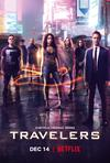 Poster for Travelers.