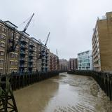 Photograph of St. Saviour's Dock.