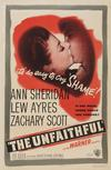 Poster for The Unfaithful.