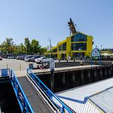 Photograph of Granville Island Parking Lot.