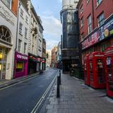 Photograph of Great Windmill Street (between Archer & Shaftesbury).
