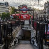 Photograph of Charing Cross Underground Station.
