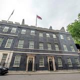 Photograph of 10 Downing Street.