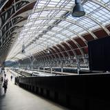 Photograph of Paddington Station.