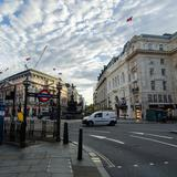 Photograph of Piccadilly Circus.