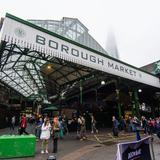 Photograph of Borough Market.