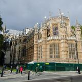 Photograph of Westminster Abbey.