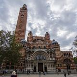 Photograph of Westminster Cathedral.