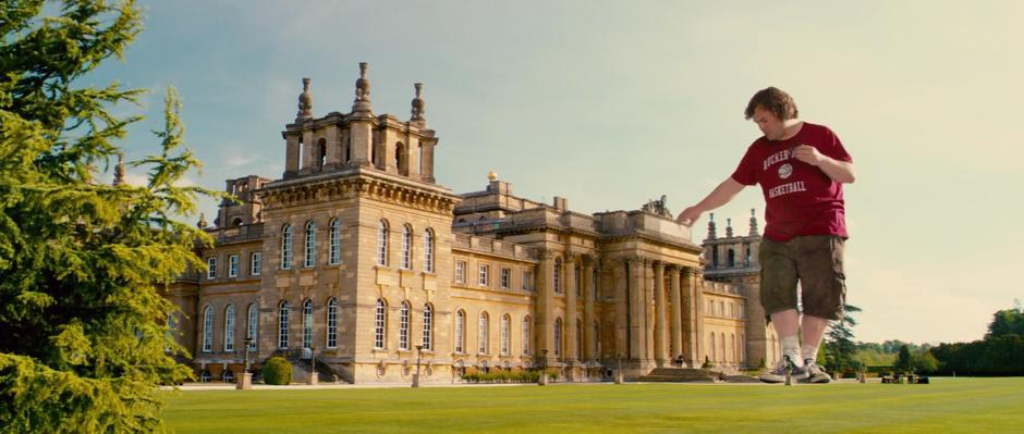 Photo of Blenheim Palace as Lilliput Palace in Gulliver's Travels —  MovieMaps