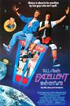 Poster for Bill & Ted's Excellent Adventure.