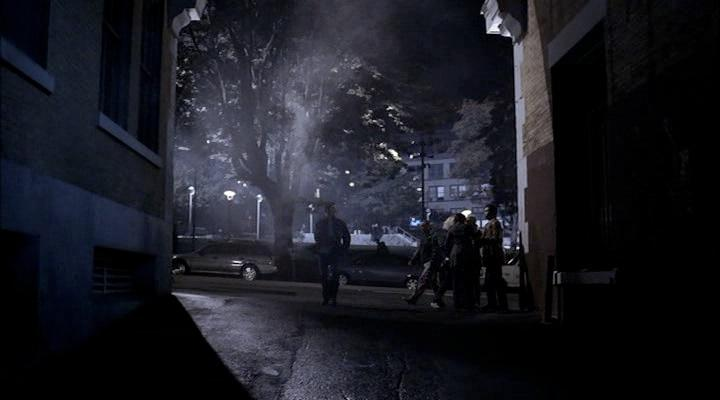 Dean enters the alley in search of the shapeshifter.