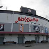Photograph of Nat Bailey Stadium.