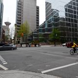 Photograph of West Hastings Street & Burrard Street.