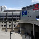 Photograph of Rogers Arena.
