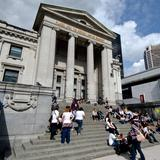 Photograph of Vancouver Art Gallery.