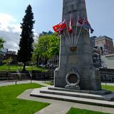 Photograph of Victory Square.