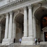 Photograph of New York Public Library.