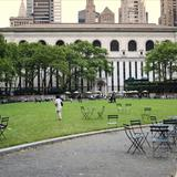 Photograph of Bryant Park.