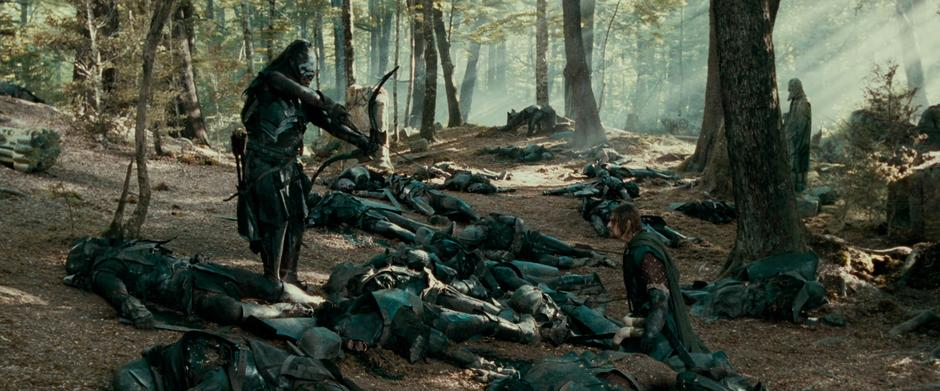 Photo of Paradise as Amon Hen in The Lord of the Rings: The Fellowship of  the Ring — MovieMaps