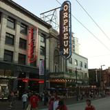 Photograph of Orpheum Theatre Vancouver.