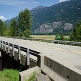 Photograph of Pemberton Meadows Road Bridge.
