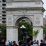 Photograph of Washington Square Park.