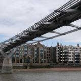 Photograph of Millennium Bridge.