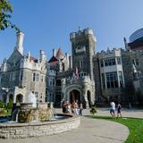 Photograph of Casa Loma.