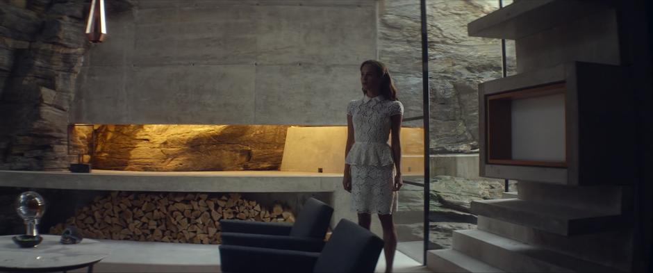 Photo Of Fjora House As Nathan S Retreat Living Room In Ex Machina Moviemaps